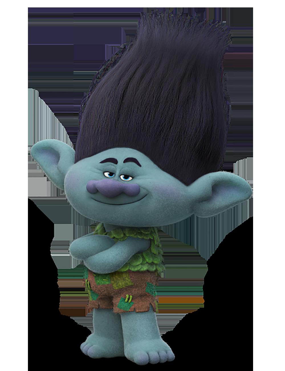 Branch de la película Trolls