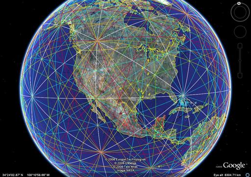 Ley line map usa mapusaticketsbox leylines blue world ley lines gumiabroncs Choice Image