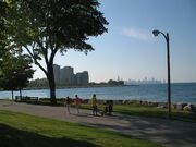 Promontory Point-Burnham Park, Northerly View