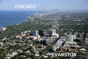 Chicago Evanston Realitive Distance