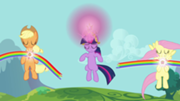 File:180px-Applejack, Fluttershy, and Twilight using Elements S03E10.png