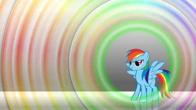 File:Rainbow dash with shiny pretty colors background by drakonslair-d5tlvmn.jpg
