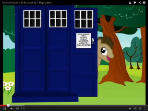 Doctor Whooves Arives in Equestria