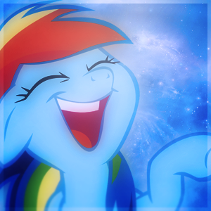 File:Rainbow dash laughing avatar by delta105-d4bx4ae.png