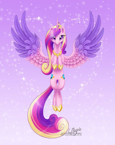 File:Princess cadance by laurenmagpie-d618lvd.jpg