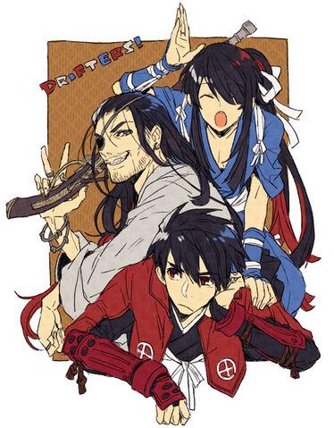 File:3 Drifters.(Manga).full.1533891.jpg