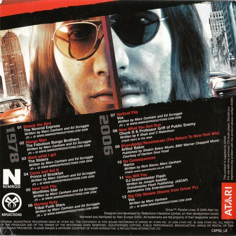 File:Driver Parallel Lines Collector 's Edition Soundtrack - Back.jpg