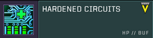 Hardened circuits title