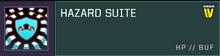 Hazard suite title