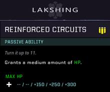 Reinforced circuits gear