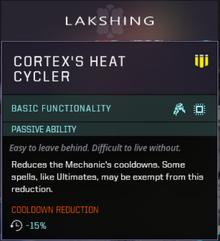 Cortex class slot gearbox
