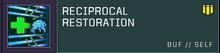 Reciprocal Restoration title