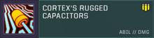 Cortex Offensive Slot