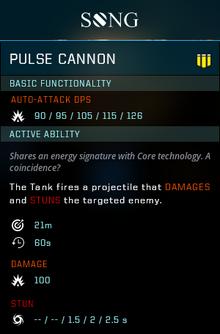 Pulse cannon gear