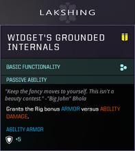 Widget Grounded