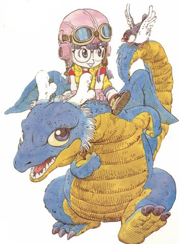 File:Arale-chan in dragon.jpg