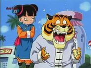Tsururin & Tsukutsun triggered by girl