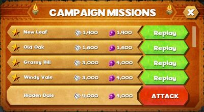 Campaign missions