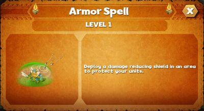 Armor spell