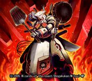Metal Cook, the Exploding Flame Chef artwork