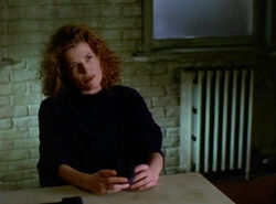 Michelle Duchamp Interrogation Room Mask