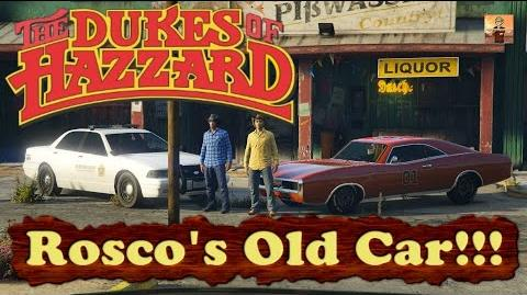 The Dukes of Hazzard Episode 1 Rosco's Old Car!!! (GTA V Rockstar Editor Movie)