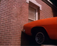 General Lee about to go through the hazzard courtroom