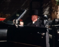 Abraham Lincoln Hogg in his black limo.png