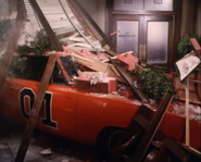 General Lee inside the hazzard courtroom