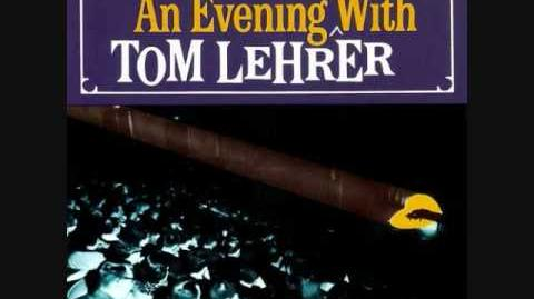 Tom Lehrer - We'll All Go Together When We Go (Live) 1959