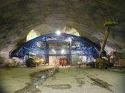 Atlas1-DetectorHall cavern construction