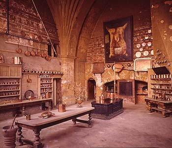 Hogwarts kitchen
