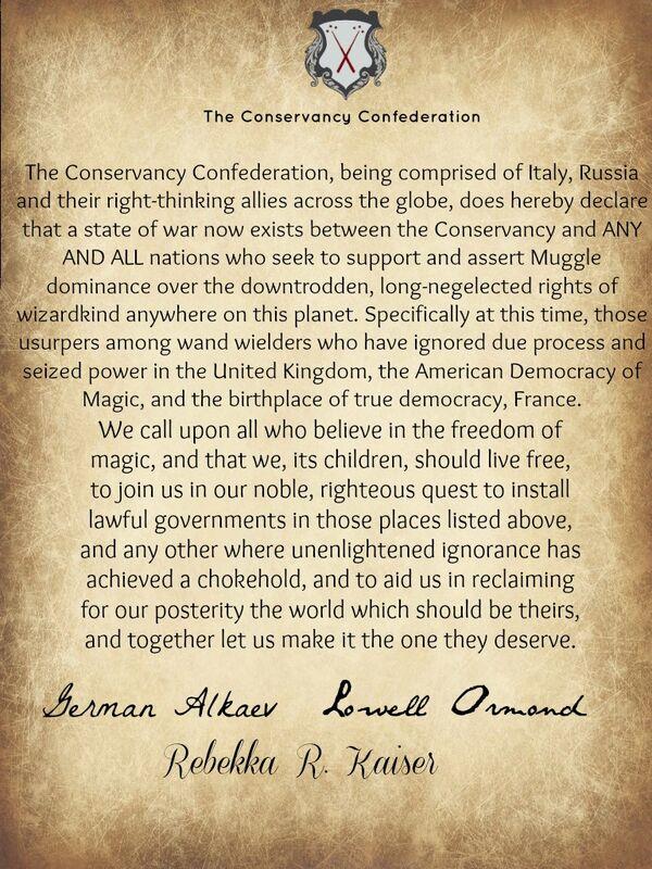 ConfedDeclaration