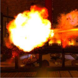 Fireball Tower Shot