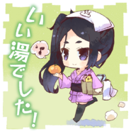 4koma Stamp Mikoto