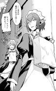 Ryuu and Syr DanMachi Manga