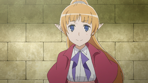 Lefiya Viridis - Sword Oratoria Anime BD