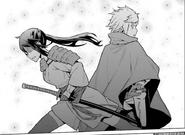 Bell and Mikoto - DanMachi Manga 1