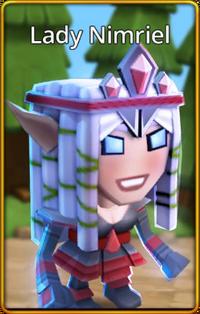 Lady Nimriel default skin