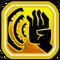 Vibrating Palm Icon