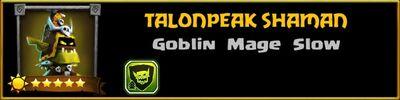 Profile Talonpeak Shaman