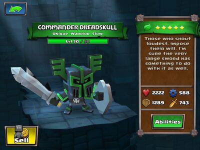 Commander Dreadskull