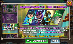 Improvements for Heroes