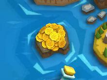 Map Gold Island