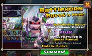 Battlehorn Bovus is here