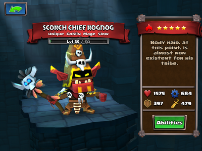 Scorch Chief Rognog