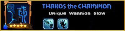 Profile Tharos the Champion
