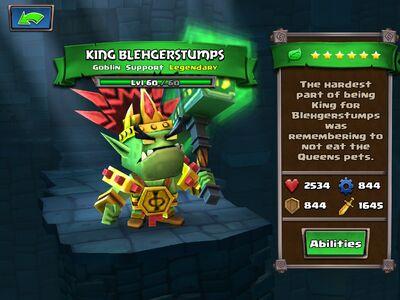 King Blehgerstumps