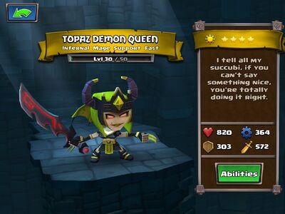 Topaz Demon Queen