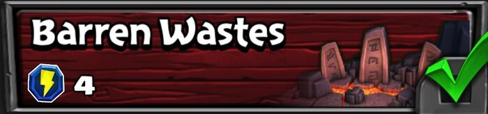 16-6 Barren Wastes